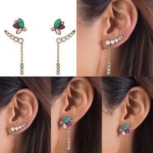 Chloe + Isabel Jewelry - Chloe + Isabel Jaipur convertible stud set